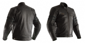 RST IOM TT Hillberry Leather Jacket Black